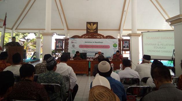 Seminar Ekonomi Syariah yang digelar MUI dan Pengurus Daerah Muhammadiyah Pamekasan, Rabu (30/11/2016)