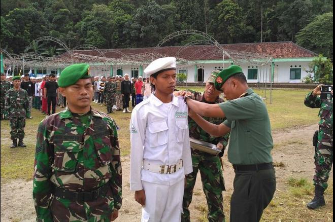 Latihan TNI dengan FPI