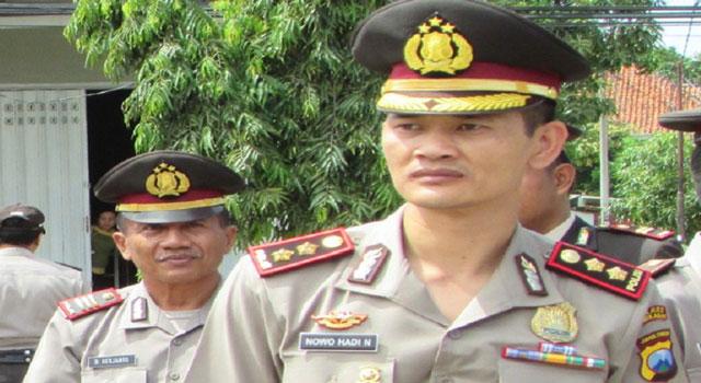 Kapolres Pamekasan AKBP Nuwo Hadi Nugroho