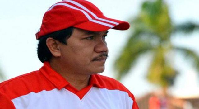 Presiden Klub Madura United FC Achsanul Qosasi.