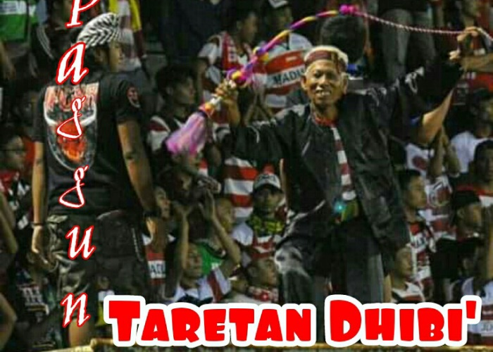 Mbah Husen, suporter senior Taretan Dhibik.